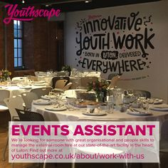 Could you help run the venue hire at our brand new building?