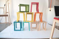 6x Plywood Kinderkamers : The 7 best kink stool images on pinterest stool birch ply and