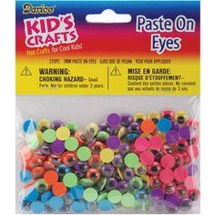 Chenille Stems  Pom-poms /&  Paste on Moving Eyes Darice Big Value Craft Pack