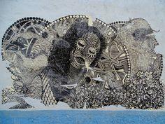 Street Art in a Oaxaca's street Mexico. Unknown author. (5184x3888) #art #design #artworks