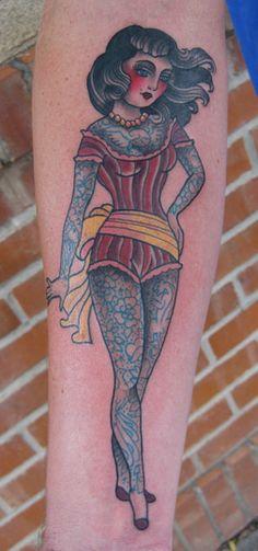 I want a tattooed lady tattoo! <3 <3 <3