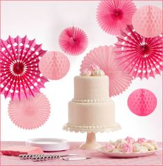 Top 7 Tips for DIY Wedding Decorations - Wedding Spell - For Your Magical Wedding! Elegant Wedding Favors, Edible Wedding Favors, Elegant Bridal Shower, Wedding Ideas, Chic Wedding, Hanging Wedding Decorations, Pink Party Decorations, Wedding Table Centerpieces, Baptism Decorations
