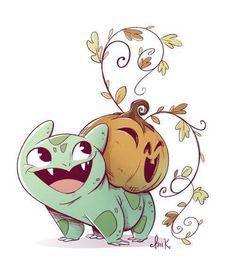 Bulbasaur halloween form#pokemon