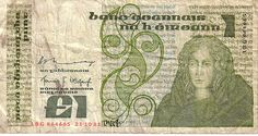 Punt, last Irish currency before the introduction of euro