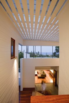 Sunshine Beach House by Wilson Architects (Aus) | White wood clad