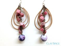 Blue and Pink Agate  Mayo Fiesta by sterlingsun on Etsy, $18.00