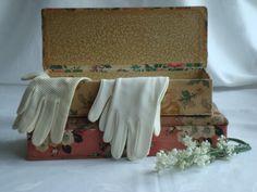 brocante handschoenendoosje