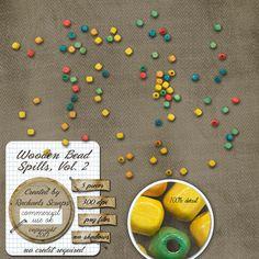 Wooden Bead Spills, Volume 2