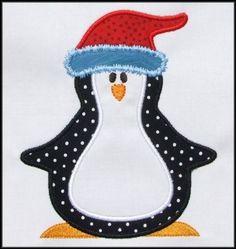 penguin applique pattern - Google Search