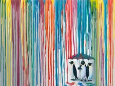Right as Rain by Michael Summers - Winner of the @ArtWalkSD T-Shirt contest!