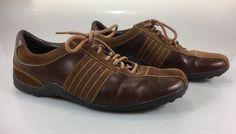 Cole Haan Suede & Leather Shoes 9.5M Men Brown #ColeHaan #Oxfords