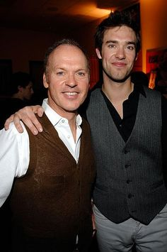 Michael Keaton & son