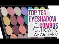 Check out my newest video, Top 10 Eyeshadow Combinations and How to Wear Them for ideas on how to pair up eyeshadows to create a polished and complete look -By Makeup Geek Cheap Mac Makeup, Diy Makeup, Makeup Tools, Beauty Makeup, Makeup 101, Chanel Beauty, Beauty Care, Beauty Tips, Mac Lip Primer