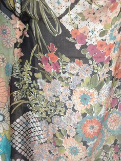 Floral asian print