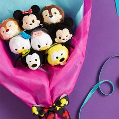 tsum tsum mother's day bouquet