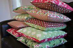New Cushions - Make It Perfect - #fabric #sewing #JoelDewberry #pillow