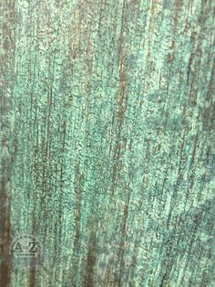 Funky UpCycled Wardrobe by A to Z Custom Creations- Patina Close Up