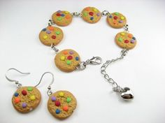 Hey, I found this really awesome Etsy listing at https://www.etsy.com/listing/63659751/rainbow-cookie-bracelet