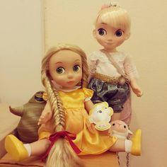 Doll Clothes / Disney Animator Dolls Elsa and Rapunzel