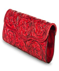 Take a look at this Red Katherine Clutch by Adam Alexis on #zulily today!