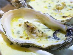 Hamburger Au Foie Gras, Mussels, Clams, Oysters, Seafood Recipes, Mashed Potatoes, Pudding, Eggs, Cheese