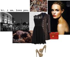 """Situation Inspiration #2:Date!"" by chiara-s ❤ liked on Polyvore"