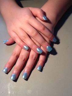 Ellie's nails 2-3-14 color: Sally Hansen, Frozen Solid