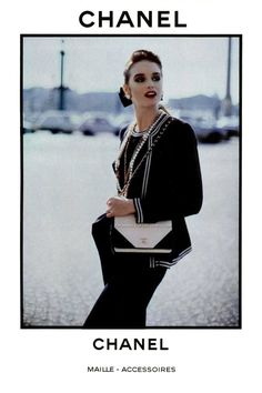 Chanel Accessoires Chanel 1980s Vintage Fashion Advertising