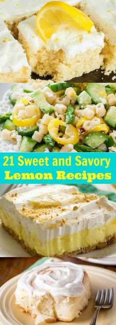 Pucker Up for These Sweet and Savory Lemon Recipes!