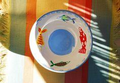 Tazón pintado a mano, apto para lavavajillas y microondas. Consulta o encargo: Pachimudesign@gmail.com