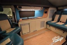 VW Transporter T5 T6 Camper Conversion - LWB Infinity Interior Campervan Conversions Layout, Vw Transporter Conversions, Vw Transporter Camper, Vw Conversions, T5 Camper, Camper Van Conversion Diy, Vw T5, Ford Transit Custom Camper, Custom Campers