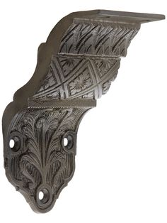 Ornate Victorian Cast Iron Handrail Bracket | House Of Antique Hardware