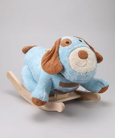 Take a look at this Rockabye Roo Roo the Doggie Rocker by Rockabye on today! Baby Shower Gift Basket, Baby Shower Gifts, Baby Gifts, Little Girl Gifts, Little Girls, Baby Rocker, Baby Items, New Baby Products, Dinosaur Stuffed Animal