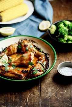 A ridiculously simple sticky chicken recipe, made with cupboard staples.