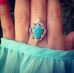 This ring reminds me of frozen