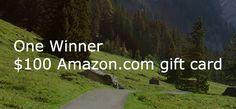 Enter to Win a $100 Amazon.com Gift Card!