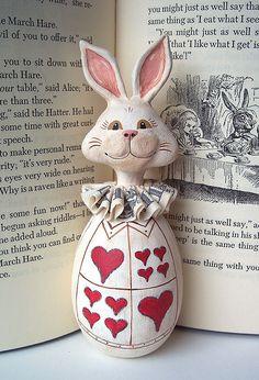 {Wonderland} The White Rabbit #AliceInWonderland #whiterabbit #art