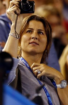 Mirka Federer: the love of Roger's life and fellow tennis guru. Picture: Supplied