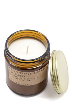 PF Candle candle co. is at it again with a brand new scent we are head over heels for! Orange Cardamom is inspired by their founder's childhood growing up on the East Coast, or more specifically what Candle Jars, Candles, Candle Holders, Scandi Bedroom, Never Stop Dreaming, Roomspiration, Home Additions, Elegant Homes, Christmas 2016