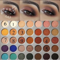 Eye makeup is able to greatly enhance your natural beauty and make you look fabulous. Discover just how to apply makeup products so that you can easily show off your eyes and stand out. Learn the most effective ideas for applying make-up to your eyes. Makeup 101, Makeup Goals, Skin Makeup, Makeup Inspo, Eyeshadow Makeup, Eyeshadows, Makeup Brushes, Makeup Ideas, Makeup Tutorials