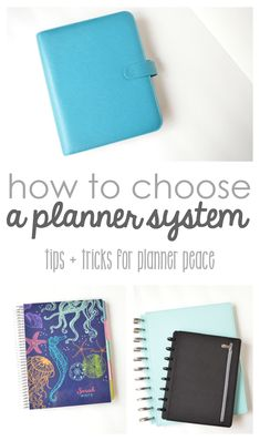 How to Choose a Planner System that's best for you- comparing Filofax or kikki.K to pre-bound planners such as the Erin Condren Life Planner and the Arc or Discbound system at Staples. Which one is best for you?