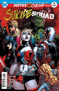 Before #DCRebirth's biggest event yet in JUSTICE LEAGUE VS. SUICIDE SQUAD, read the prelude in this week's SUICIDE SQUAD #8! #LeaguevSquad