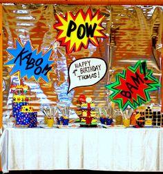 Superhero Birthday Party Ideas   Photo 1 of 30   Catch My Party