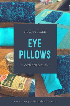 For those who have used a weighted eye pillow, also known as a dream pillow, either in a yoga class or in meditation, know how soothing they can be! These DIY eye pillows are quick to make for yourself and to share as wonderful gifts. Sewing Crafts, Sewing Projects, Diy Projects, Homemade Gifts, Diy Gifts, Diy Yoga Gifts, Chakra, Minions, Meditation Pillow