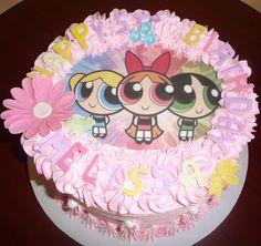 Children's Birthday Cakes - Powerpuff Girls Cake by Roscoe Bakery