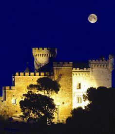 Bonita imagen del Castillo de #Castelldefels, provincia de #Barcelona, España