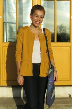 Gilet Monceau à basque - on sunday mornings