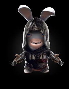 Lapin cretin Rayman Raving Rabbids, Watchdogs 2, Assassins Creed, League Of Legends, Cartoon Characters, Minions, Funny Memes, Hilarious, Rabbit