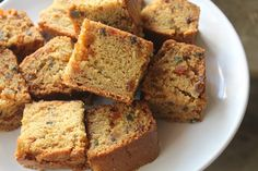Easy Atta Cake Recipe - Eggless Whole Wheat Tutti Frutti Cake Recipe - Yummy Tummy