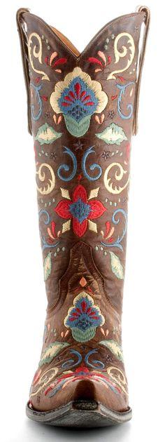 Womens Old Gringo Deborah Rico Boots Brass #L829-1